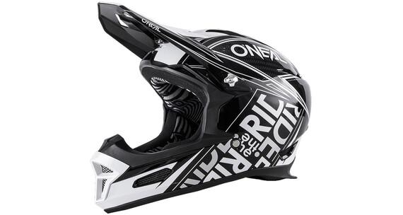 ONeal Fury RL Fuel Fullfacehjälm vit/svart